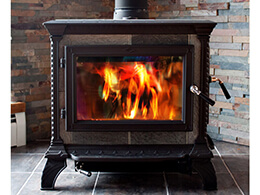 Wood burning freestanding stove