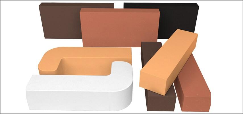 Decorative Colour Fire Bricks