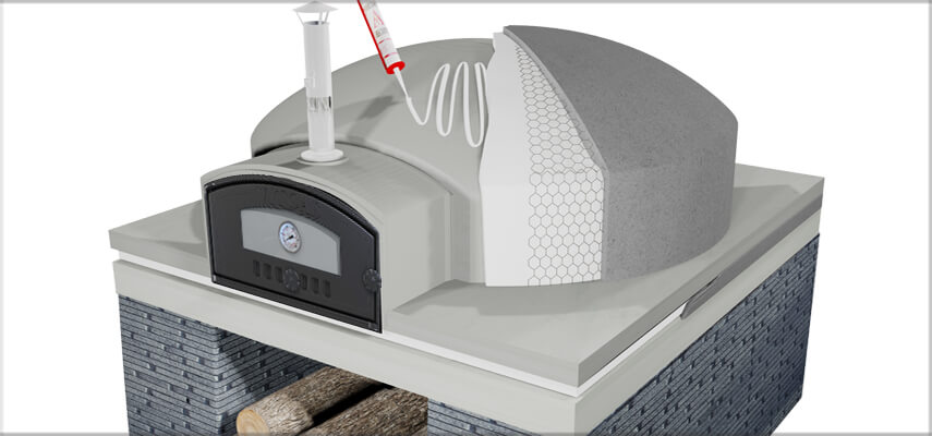 Insulation for Outdoor Oven