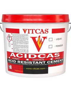 Acid proof Cement Mortar-25kg+Liquid - VITCAS