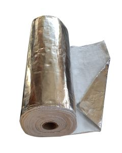 Aluminium Coated Insulation - Flue Wrap 1M x12mm - VITCAS