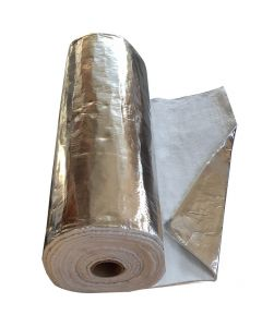 Aluminium Coated Insulation - Flue Wrap 1M x12mm -per Metre - VITCAS