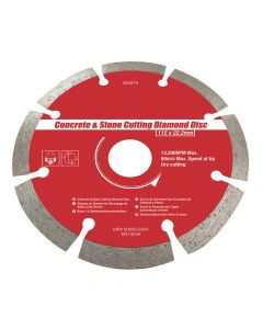 Brick & Concrete Cutting Diamond Disc - VITCAS