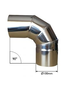 CHIMNEY FLUE 90 DEGREE BEND - VITCAS