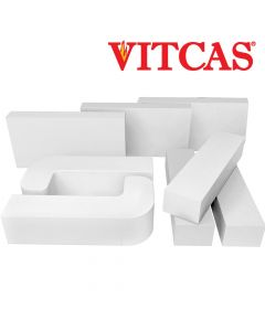 Vitcas-Fire Bricks-White - VITCAS