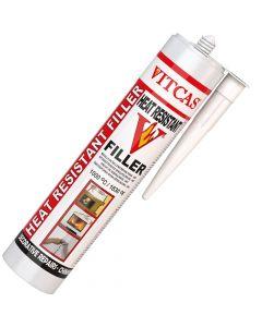 HRF - HEAT RESISTANT FILLER 1000°C -WHITE - VITCAS