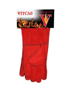 Heat Resistant Leather Gloves - VITCAS