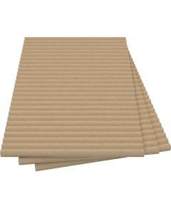 Vermiculite Fire Board-Reeded-Fire-proof Insulation - VITCAS