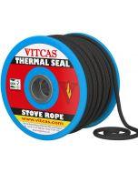 Fire Rope Black Soft - VITCAS
