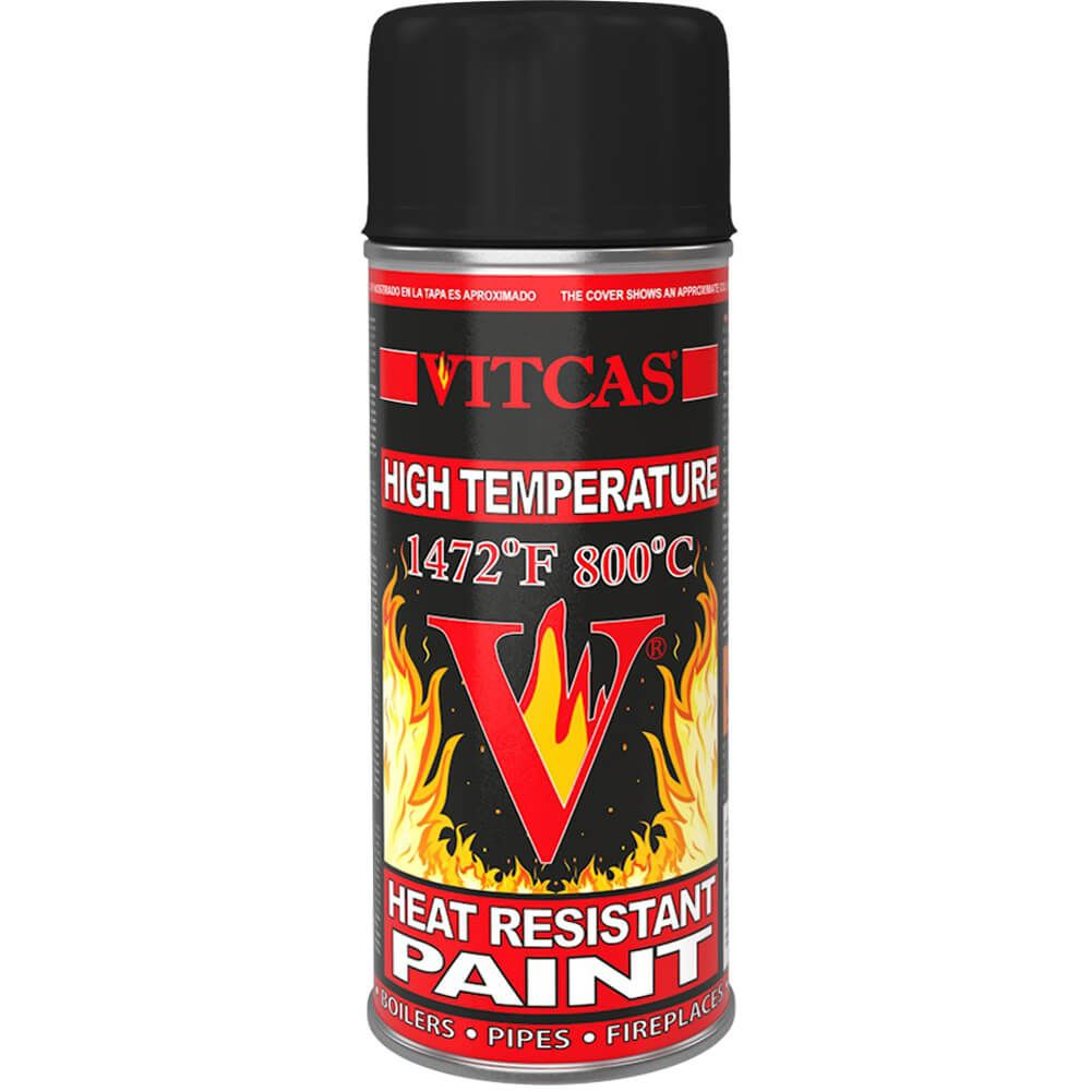 Heat Resistant Paint Black High Temperature Spray Vitcas