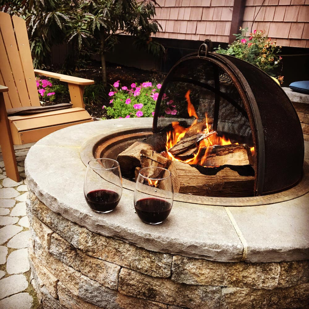 ready-made fire pit
